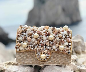 accessories, bags, and seashells image