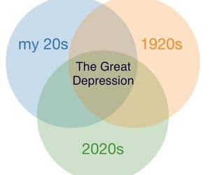 2020, depressed, and meme image