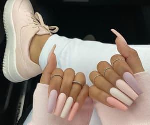 beauty, nails art, and girls image