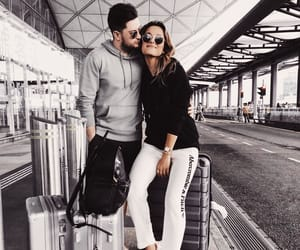 accessories, airport, and chic image