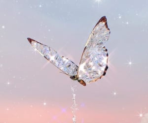 butterfly, aesthetic, and sparkle image