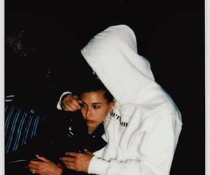 justin bieber, couple, and hailey baldwin image