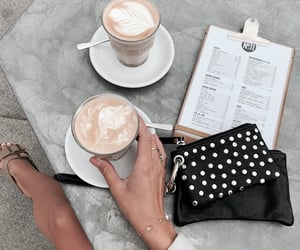 coffee, accessories, and bag image