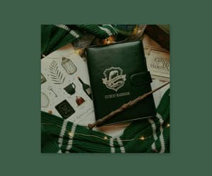 aesthetic, hogwarts, and slytherin image