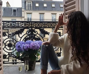 champagne, chillin, and paris image