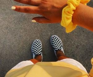 yellow, vsco, and vans image