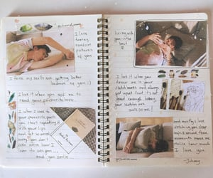 johnny, journaling, and ten image