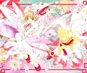 anime, sakura, and アニメ image