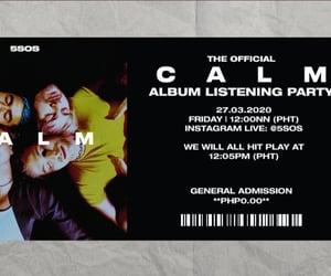 album, calm, and musicians image