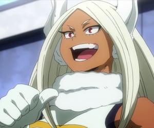 anime, mirko, and boku no hero academia image