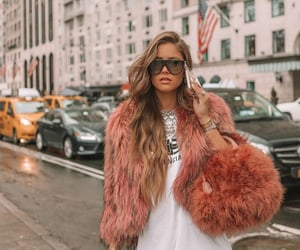 coat, style, and diva image