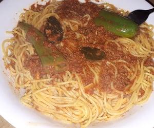 delicious, pasta, and لذيذ image