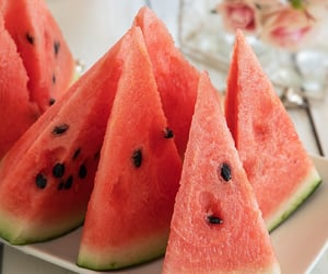 food, melon, and sweet image
