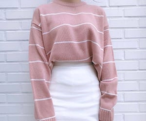 sweater, sweet, and розовый image