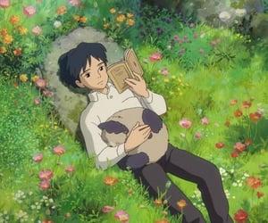anime, cat, and studio ghibli image