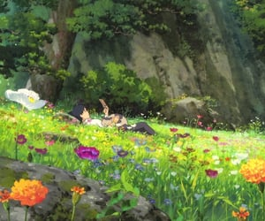ghibli, movies, and ghibli studios image