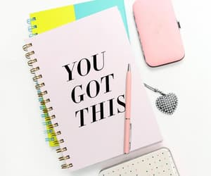 etsy, spiral notebook, and blush pink image