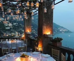 positano, italy, and travel image