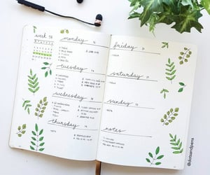 green, plans, and week image