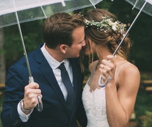 bride, dress, and mr image