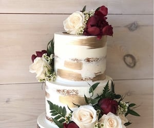 bride, cake, and fancy image