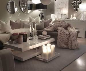 beige, Blanc, and bougie image