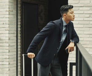 actor, korean, and park seo joon image