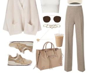 Balenciaga, fashion, and beige image