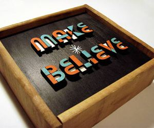 believe, type, and wood image