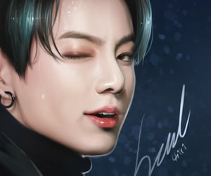 jk, bts, and bts fanart image