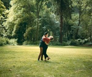 analog, couple, and film image