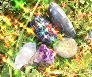 aesthetic, crystal, and dreamy image