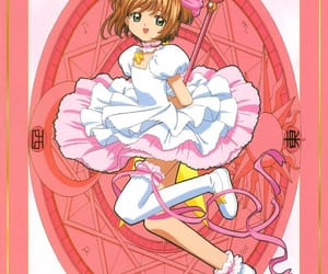 anime and sakura card captor image