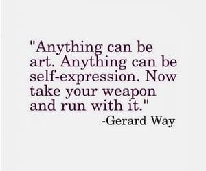 art, gerard way, and mcr image
