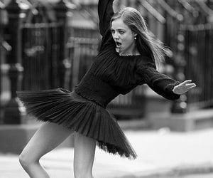 awkward, balance, and ballerina image
