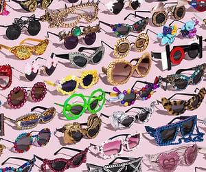 sunglasses, fashion, and glasses image