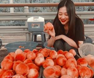 idol, kpop, and peach image
