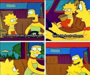 tumblr, simpsons, and the simpsons image
