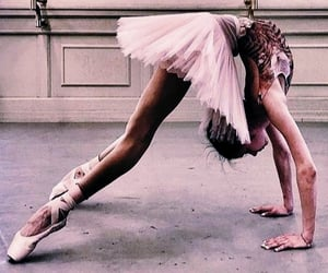 ballet, rose gold, and dance image