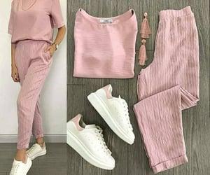 fashion, pink, and mode image