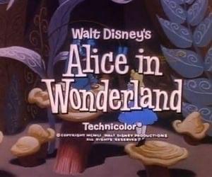 alice in wonderland, disney, and alice image