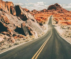 road, beautiful, and landscape image