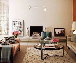 living room, home, and sofa image