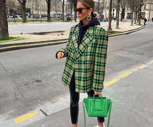 bag, earrings, and street image