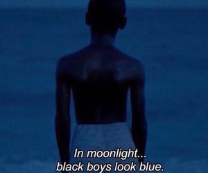 moonlight, blue, and quotes image
