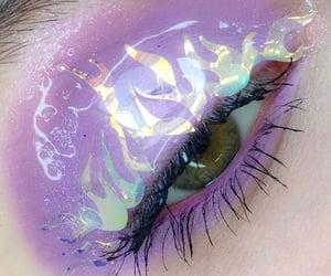 eye, eye makeup, and make-up image