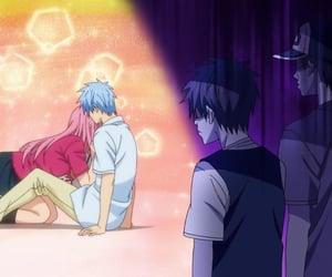 kuroko no basket, kuroko tetsuya, and momoi satsuki image
