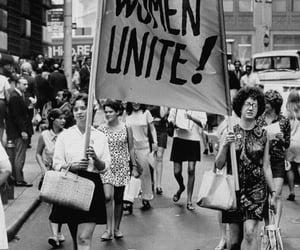 feminism, quotes, and unite image