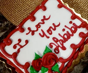 arab, cake, and I Love You image