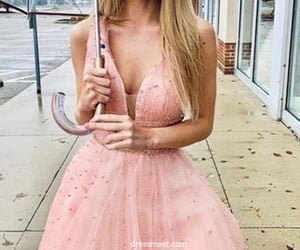 evening dress, long prom dress, and 2020 prom dress image